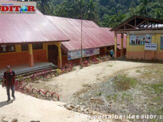 Kondisi SMPN 15 Solsel yang membutuhkan adanya tambahan lahan pembangunan gedung baru sekolah.
