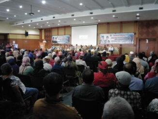 Pertemuan pemko Bukittinggi dengan pedagang yang akan menempati pasa ateh yang di hadiri pimpinan DPRD.