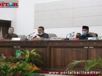 Rapat Paripurna DPRD Kab. Pasaman