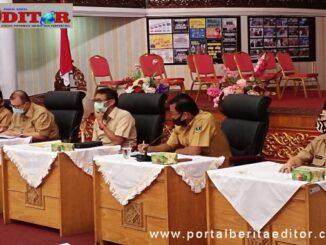 Rapat persiapan MTQ Nasional ke 28 di Sumbar.