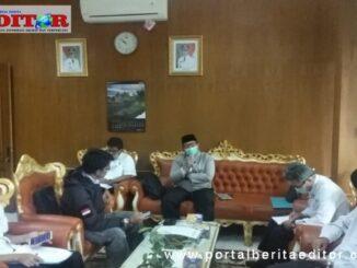Rapat persiapan pelaksanaan Idul Adha di Bukittinggi.