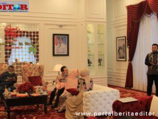 Silaturrahmi YPTK dengan Pemkab Solok.