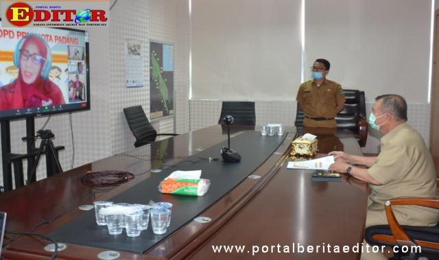 Wagub Nasrul Abit saat menjadi narasumber yang dilaksanakan PPNI Kota Padang