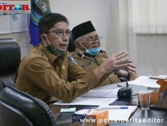 Walikota Deri Asta bersama Wakil Walikota Sawahlunto Zohirin Sayuti.