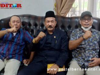 Anggota DPRD Kab. Solok yang berbicara tentang Musoekab Koni Kab. Solok.