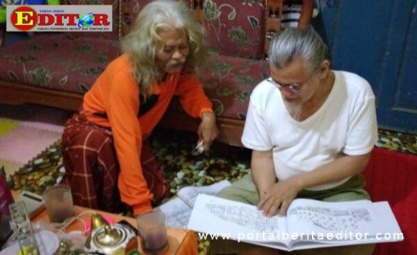 Body Dharma mendiskusikan narasi bukunya dengan penyair Rhian D'Kincai.