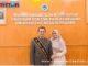 DR. Alfian Jamrah bersama istri.