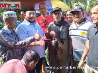 H Benny Utama SH MM bersama masyarakat kecamatan tigo Nagari.