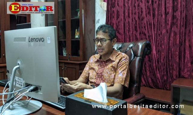 Irwan Prayitno saat menjadi narasumber webinar tentang redang.