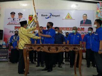Pelantikan pengurus PDDI Kota Sawahlunto.