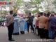 Penerapan Protokol Kesehatan pada shalat Idul Adha di Bukittinggi.