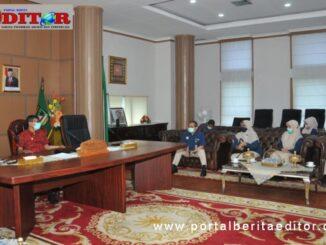 Pertemuan gubernur Irwan Prayitno dengan BPJS Kesehatan Sumbar., Riau, Kepri dan Jambi.