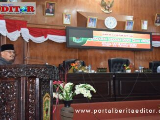 Sidang paripurna DPRD Kab. Solok.