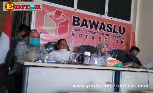 Sosialisasi Bawaslu Kota Solok.