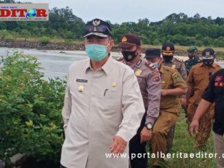Wagub Nasrul Abit melaksanakan tugas lapangan.