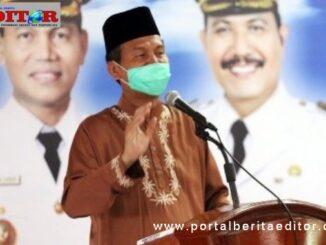 Genius Umar saat memberi sambutan.