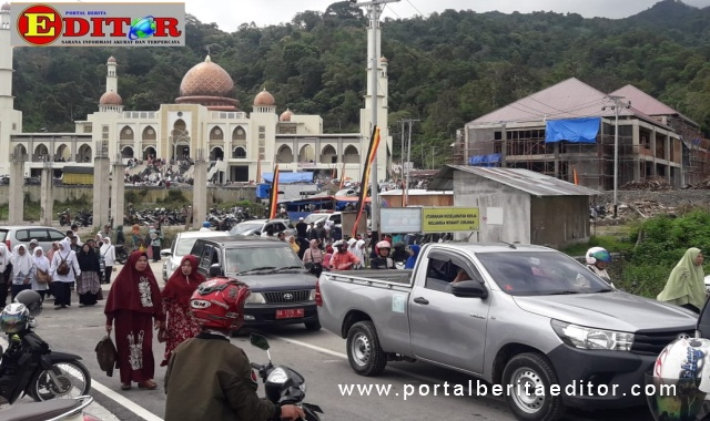 Islamic Center Kota Padang Panjang.