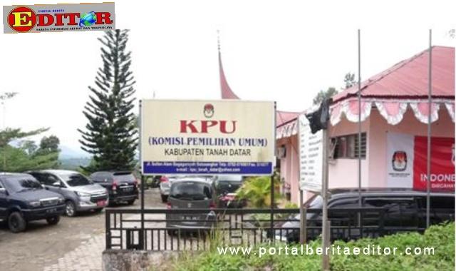 Kantor KPU Kab. Tanah Datar.