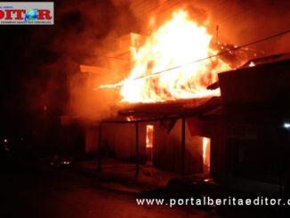 Kebakaran di Maninjau.