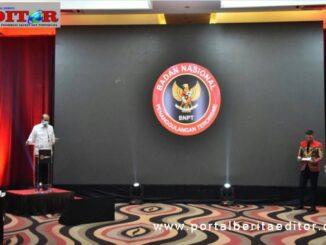 Kepala BNPT, Komjen Pol. Dr. Boy Rafli Amar., M.H. saat meluncurkan BNPT TV Channel.