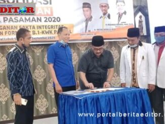 PKS menyatakan dukungan politik kepada pasangan H Benny Utama SH MM dengan Sabar AS S.Ag di hotel Arumas Sawah Panjang Lubuk Sikaping.