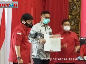 Pengembalian SK DPP PDI-P.