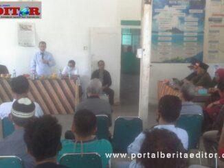 Pertemuan Nasrul Abit dengan IKWAL Kota Padang.