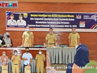 Rakor AKB di Diskominfo Kota Pariaman.