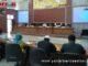 Rakor tentang perkembangan dan penanganan kasus positif covid-19 di Bukittinggi.
