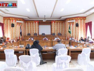 Rapat evaluasi 121 Perda oleh DPRD Payakumbuh.