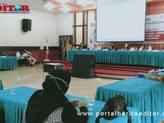 Rapat pleno KPU Payakumbuh menetapkan DPS untuk Pilkada Gubernur dan wakil Gubernur Sumbar.