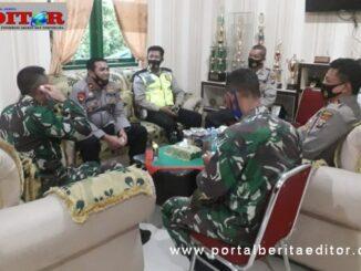 Silaturahmi Kaploresk Medan Helvetia ke Bataliyon Zipur I Medan.