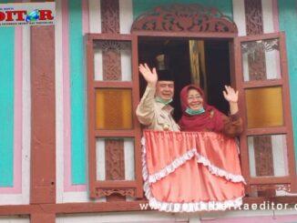 Wagub Nasrul Abit mengunjungi Rumah Gadang Tan Malaka.