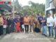 Wako Ramlan bersama warga di Bukik Umpang umpang pintu Kabun.
