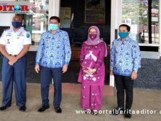 Walikota Deri Asta, Sekdako Ambun Kadri dan Kadis Perhubungan.