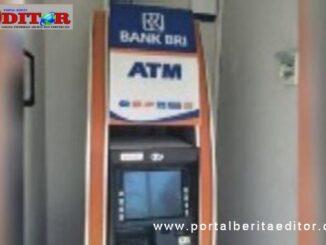 ATM di Jati yang ditutup buat sementara.