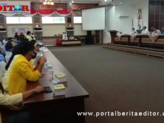 Audiensi Aliansi Mahasiswa Solok dengan Pemda dan DPRD Kab. Solok.