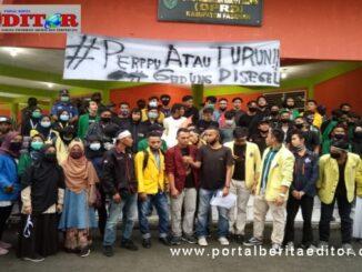 Demo di DPRD Kab. Pasaman.