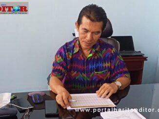 Direktur PDAM Tirta Jam gadang Bukittinggi Budi Suhendra, ST.