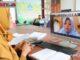Guru PAUD Payakumbuh mengikuti Bimtek secara virtual.