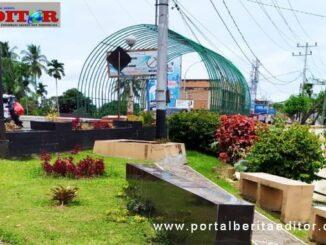 Inilah taman hijau Ratapan Ibu di Payakumbuh sebagai lokasi festival marondang yang akan digelar 15-26 Oktober mendatabg.