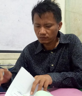 Kepala Bidang PSDA Kota Padang Fadelan Fista Masta.