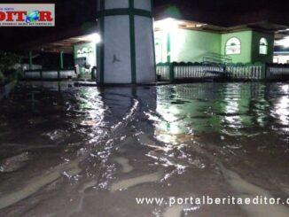 Kondisi pasca banjir merendam dua nagari di Kecamatan Sungai Pagu, Solsel jumat malam.