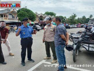 Operasi Yustisi Penegakan AKB di Pasar Sago IV Jurai.