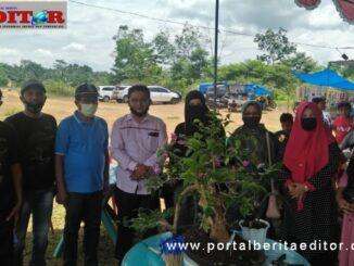 Pameran Bonsai Perdana di gelar di Nagari Talunan Maju Kec Sangir Balai jangi, Solok Selatan.