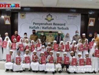 Para Hafizh dan Hazizhah terbaik bersama forkopinda.
