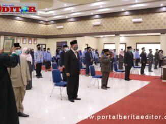 Pelantikan 51 orang pejabat dilingkungan Pemko Payakumbuh yang di rotasi.