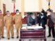 Penandatangan berita acara sidang paripurna DPRD Kota Pariaman.