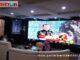 Sekjen Kementerian LH dan Kehutanan Bambang Hendroyono tengah membacakan sambutan Menteri LH dan Kehutanan pada acara puncak festival iklim 2020.