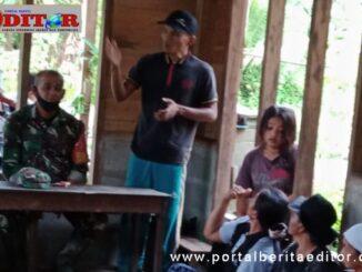 Sosialisasi penguatan kelompok tani sawah di Desa Nem-nemleleu Kecamatan Sipora Selatan.